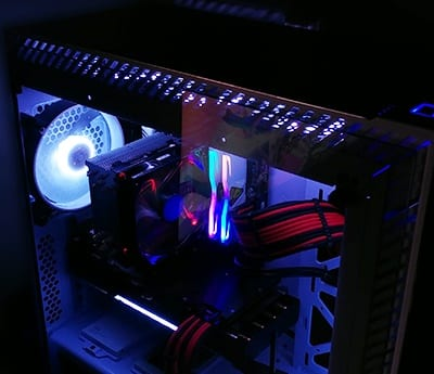 강화유리 컴퓨터 케이스